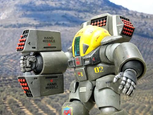 "Dorvack +++ 1:24 PAM-74 ""Tinkle Bell"" powered armor suit (Aoshima kit) | by dizzyfugu"