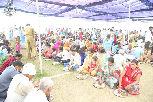 Langar in the Samagam Campus