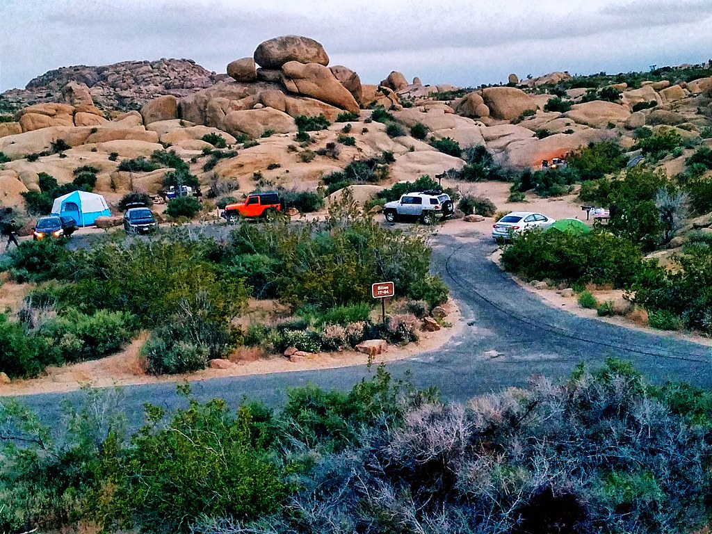 Jumbo Rocks Campground Joshua Tree National Park Riversi