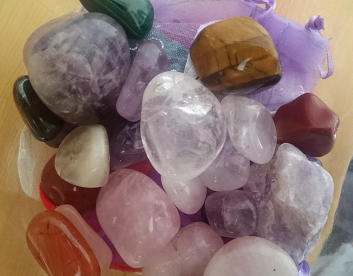 Mixed Healing Crystals | by Elderberry Arts