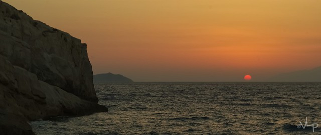 Sunset on Crete