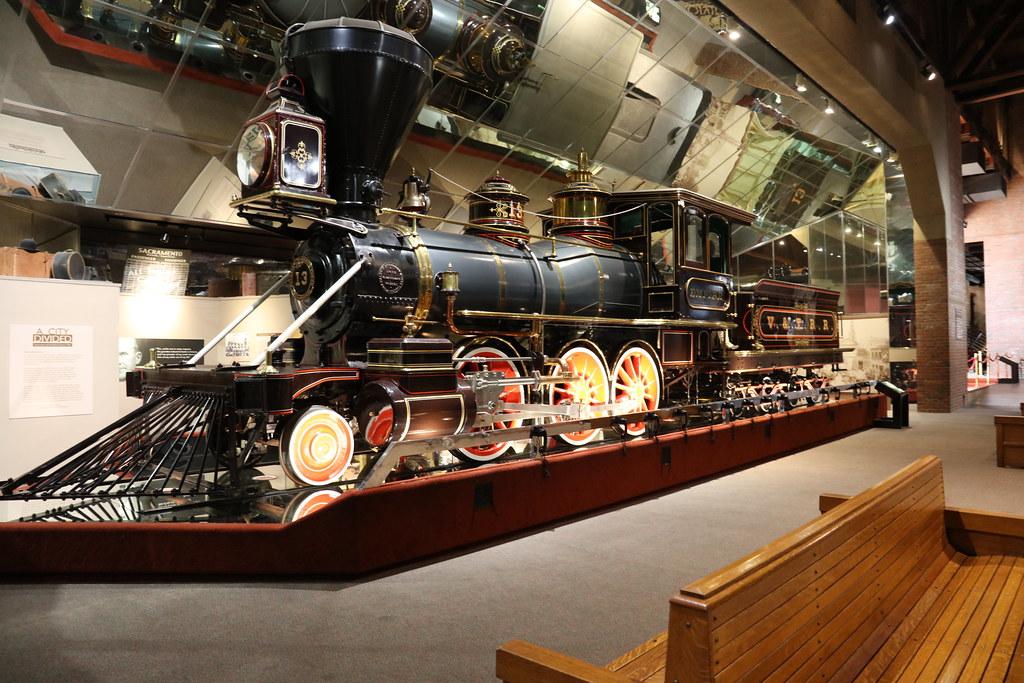 Virginia & Truckee Railroad No  13 Empire   Sacramento Calif