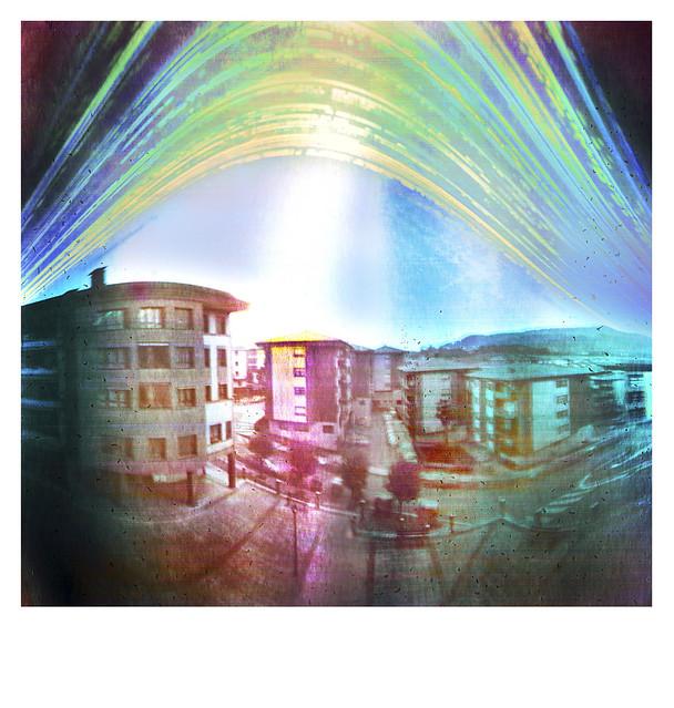 Solarigrafía en Urnieta. (Eskerrikasko Lorea por prestarme tu balcón!)