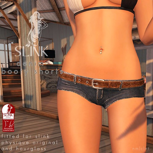 Denim Booty Shorts Main | by Siddean Munro