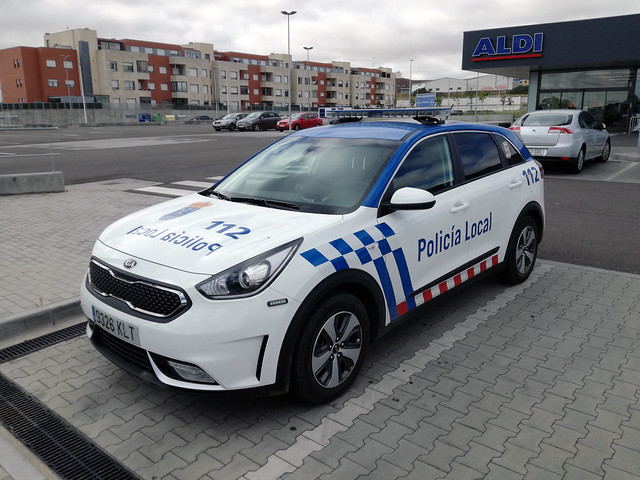 KIA Niro Policía Local de Santa Marta de Tormes (Salamanca)
