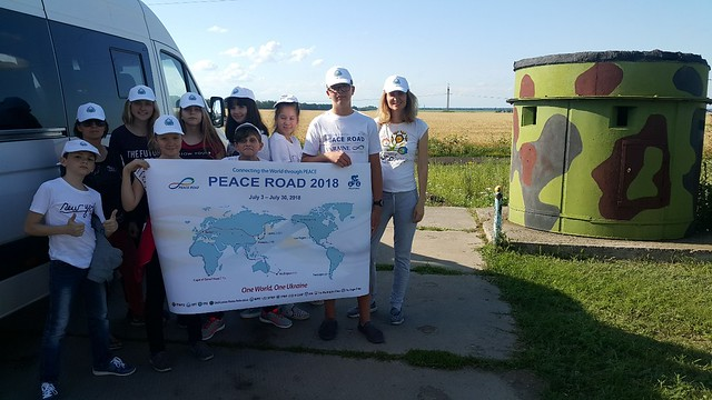 Ukraine-2018-07-04-'Peace Road' Team Travels from Kiev to Odessa