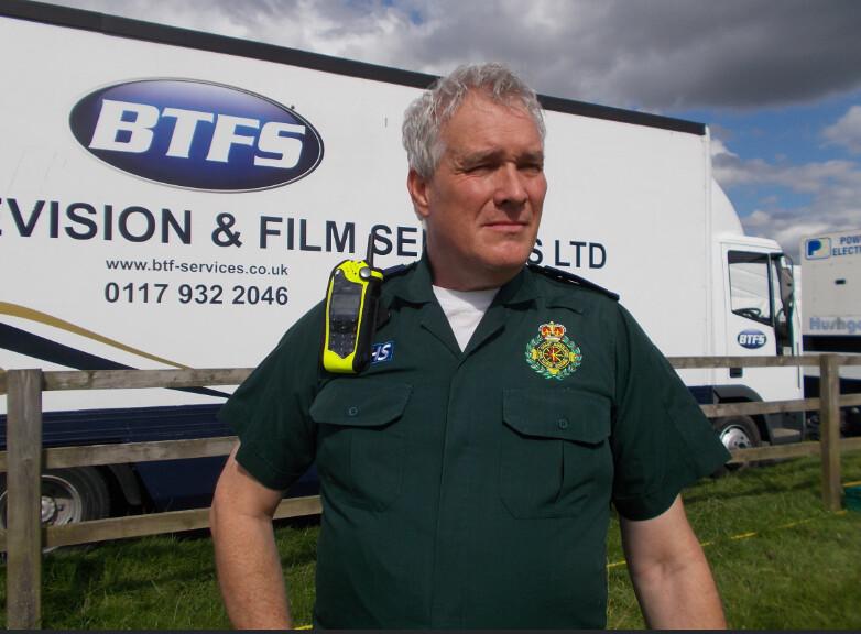 ambulance paramedic for tv series my uniform