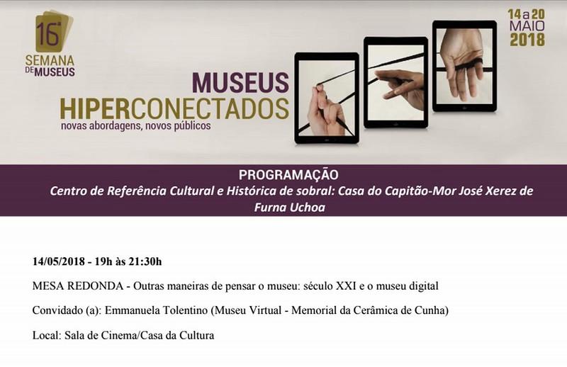 2 semana de museus 2018