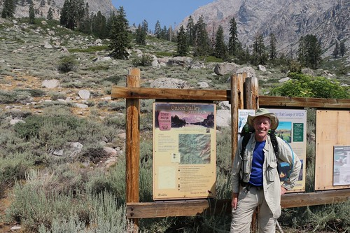 0022 Me at the Onion Valley Trailhead Information Signs - I got started late thanks to bad luck at the lottery | by _JFR_