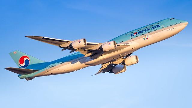 Boeing 747-8B5 HL7636 Korean Air Lines