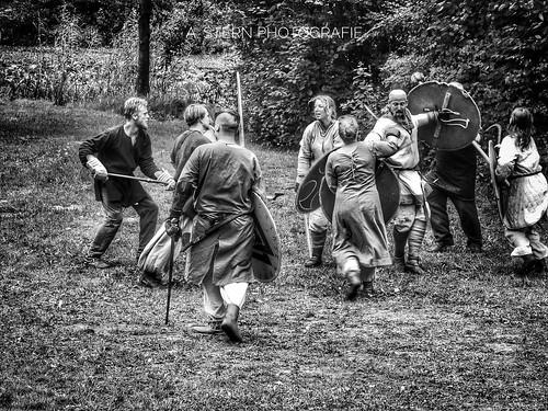 Schlacht bei Wallsbüll im Wikingerdorf Valsgaard | by Sternschnuppes Welt