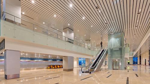 This is Cam Ranh Airport's new international passenger