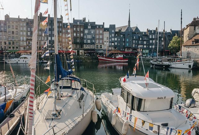Late afternoon in Honfleur