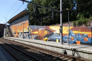 By Seyb, Manyak & Propaganza at Meiser Station (Brussels) | by @necDOT