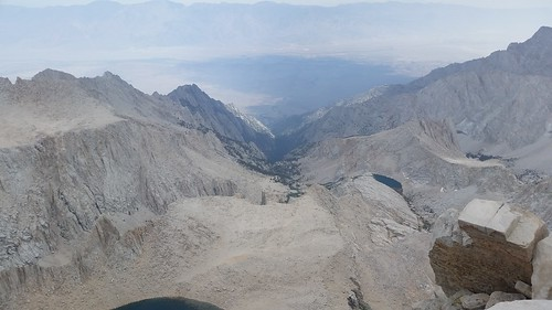 1597 Looking east toward Whitney Portal from the summit of Mount Whitney | by _JFR_