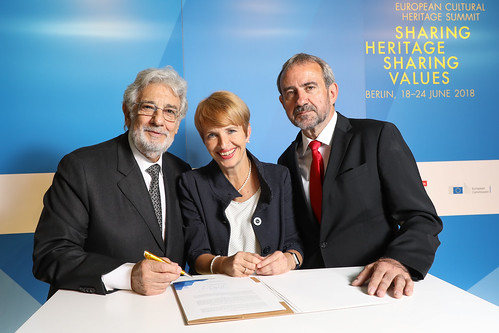 Signature of the Berlin Call to Action by Presidents of the 3 co-hosting organisations of the Summit | by europanostra