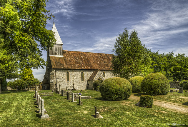 St Peter and St Paul, Exton, Hampshire.