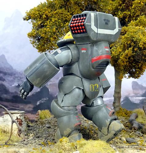 "Dorvack +++ 1:24 PAM-74 ""Tinkle Bell"" powered armor suit (Aoshima kit)   by dizzyfugu"