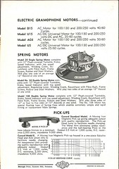 Garrard Descriptive List 1940's 4
