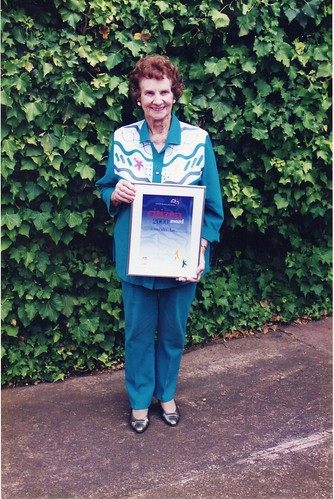8 Muriel Marsh Gawler Citizen of the Year 2000 | by Gawler History