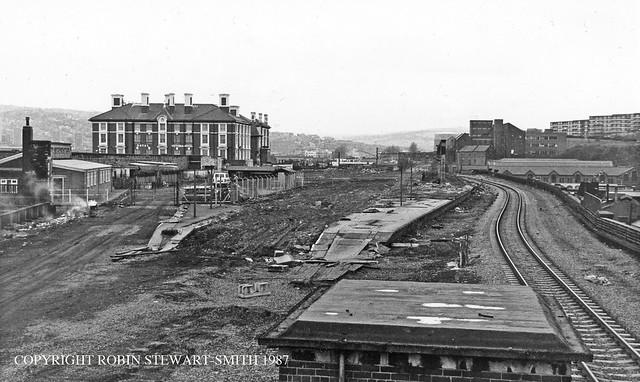 LNER Sheffield Victoria Station Site February 1987