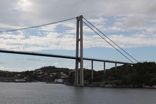 Askøy Bridge near Bergen