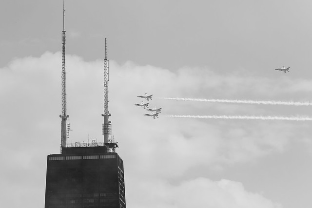 2018 Chicago Air & Water Show practice