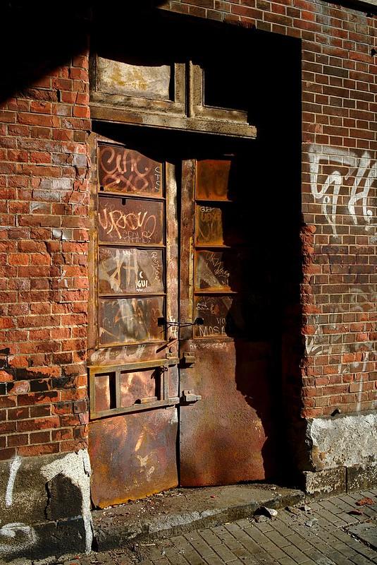 Rusty entrance