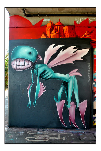 STREET ART by PACTICLE WAVE