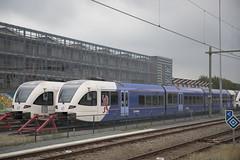 NL Arriva 387+386 Leeuwarden 16-8-2018