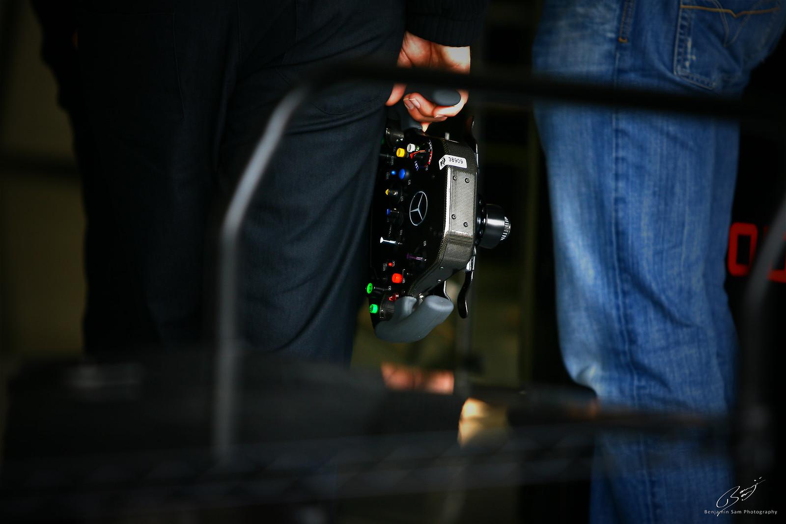Mercedes F1 Steering Wheel 2011