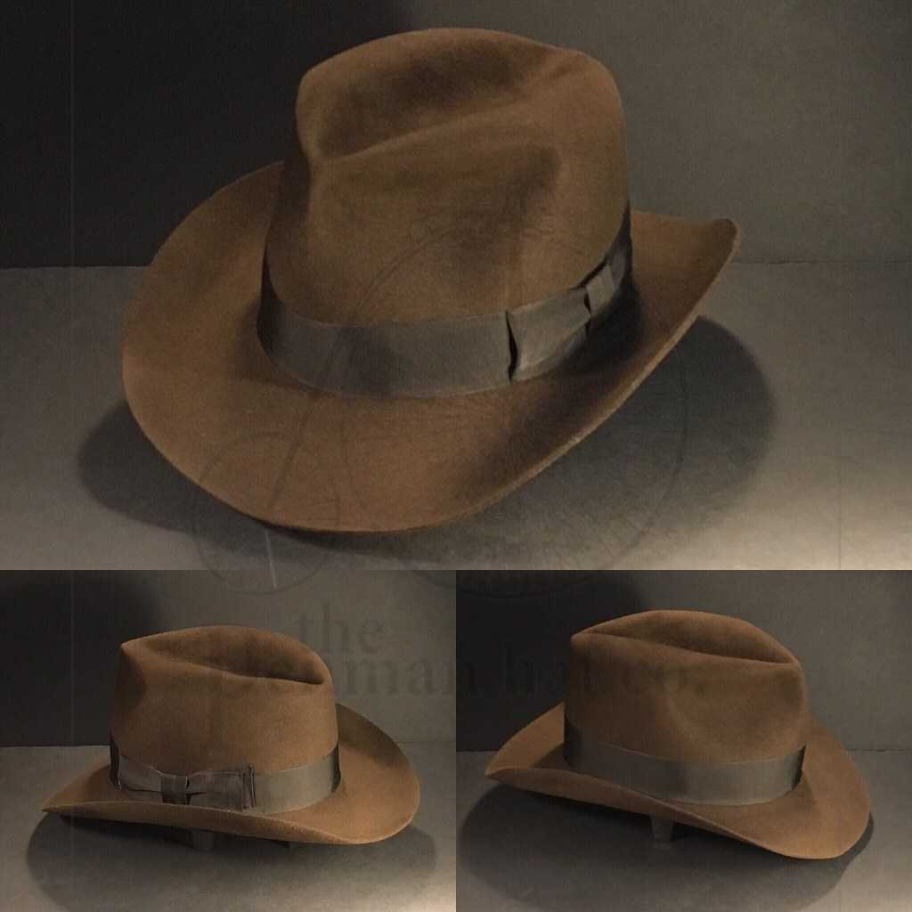 082686d4e9da6 ... Just finished this  indianajones  thelastcrusade  fedora  hat from the  leader in Indiana