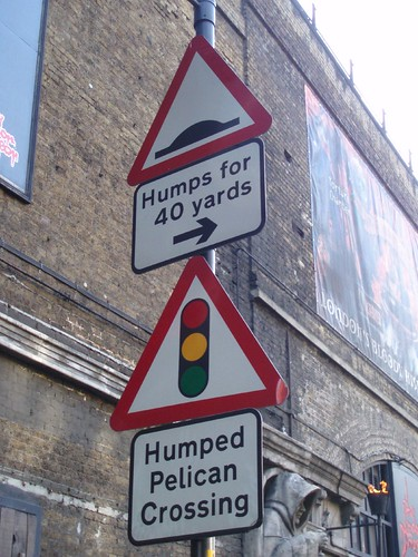 London - funniest sign ever ! | by pinkscootermenace