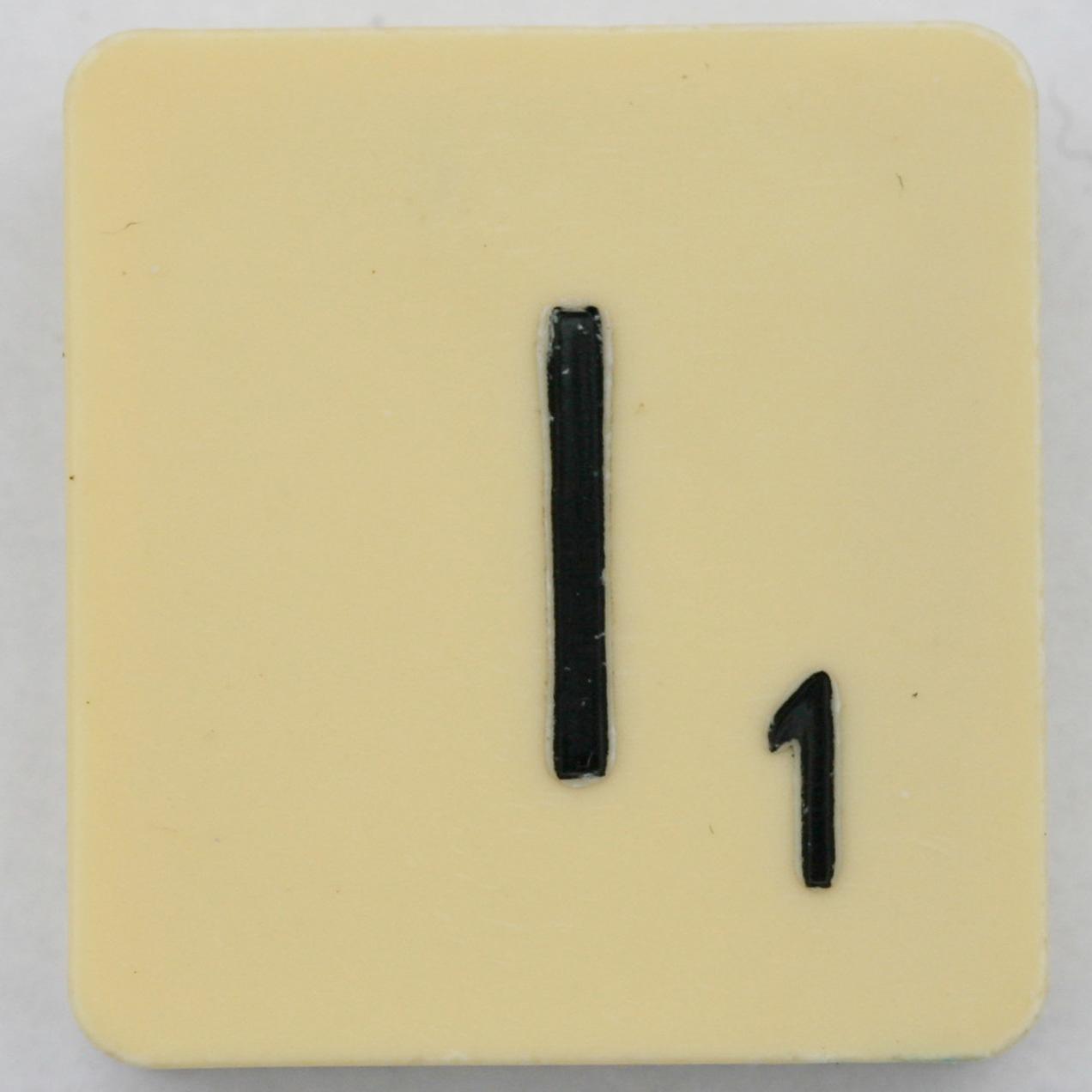 Scrabble Letter I