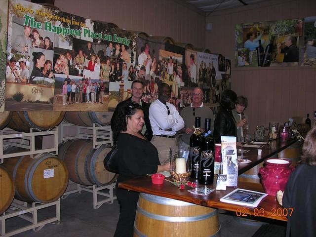 Wine tour 2007 pretty good