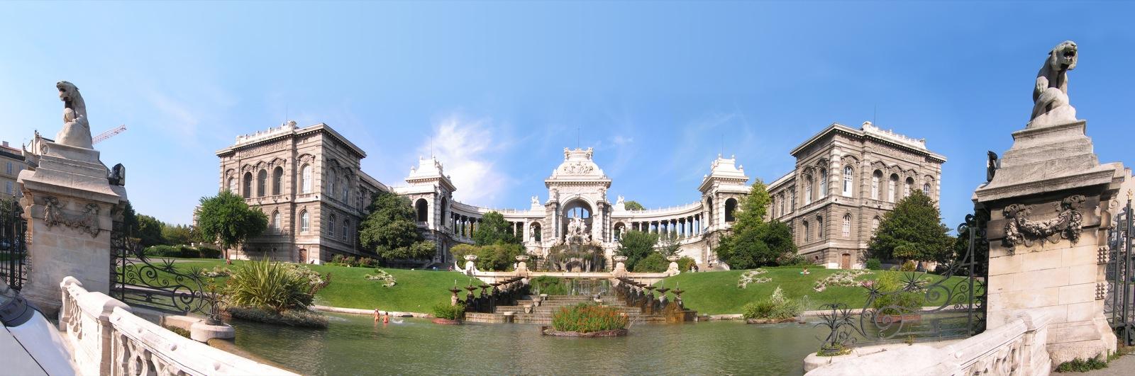 Marseille Le Palais Longchamp