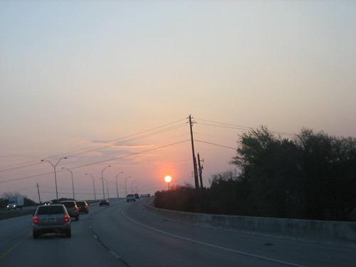 sun sunrise onthewaytowork donttrythisathomekids project365 75365 anotheroneofmyfamoustakenwhiledrivingshots
