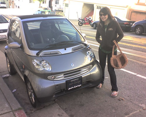 smart car spotted in north beach   by @ayn