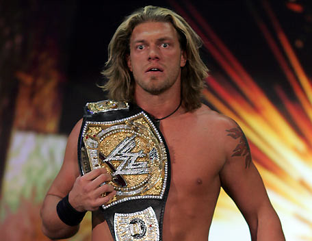 Edge Champion | Edge as seen with the WWE Championship after… | Flickr