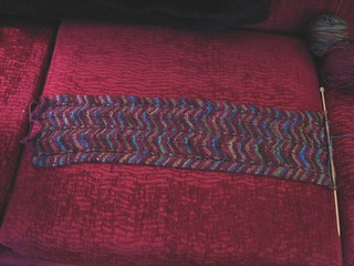chevron scarf on sofa-o-meter.JPG | by shinycolors