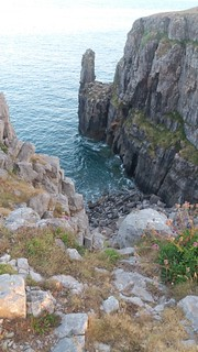 20180714_205421 Gulley containing St Govans chapel