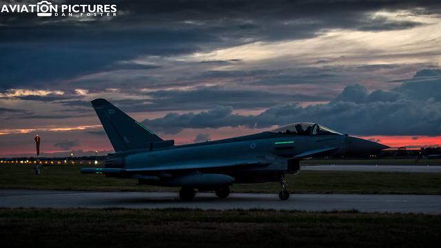 Eurofighter Typhoon FGR4 ZK301