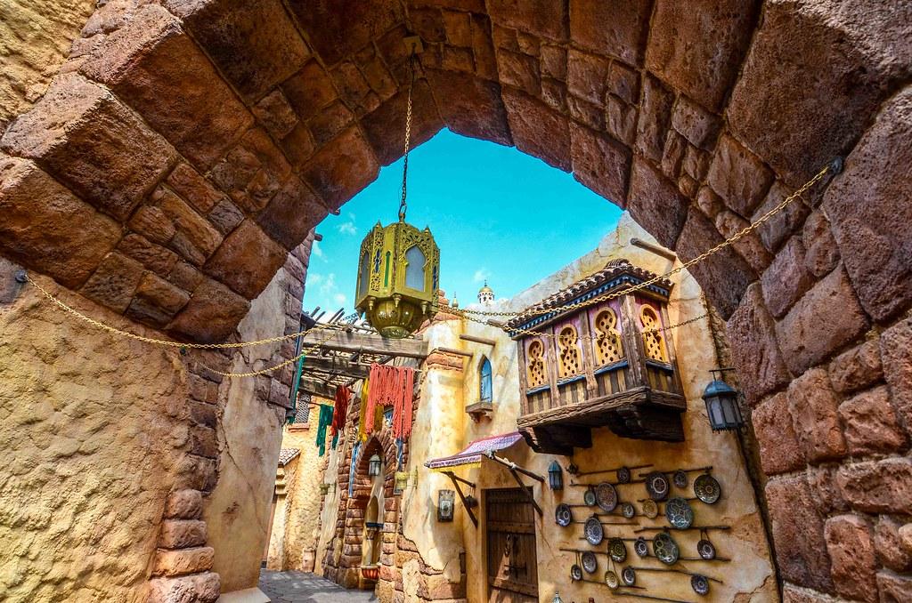 Arabian Coast alley TDS