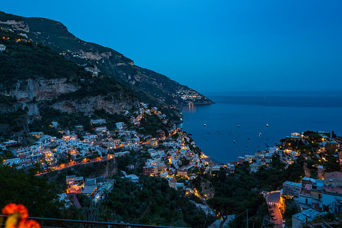 Amalfi Coast at Night   by nan palmero