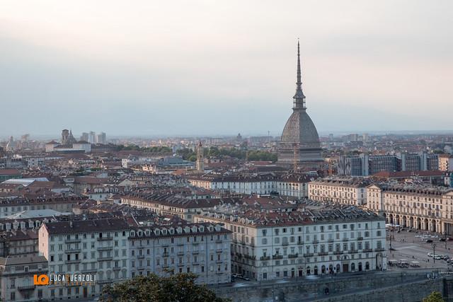 La Mole  Antonelliana con vista Duomo di Torino