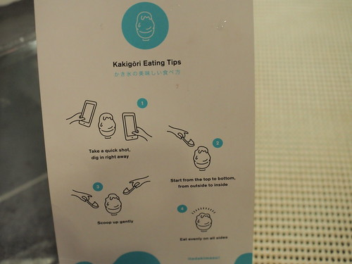 Eating tips at Kakigori @ Taman Paramount, Petaling Jaya | by huislaw