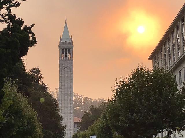 Fiery Dawn on Campus