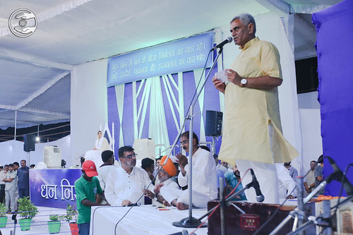 Shri Manish Grover, Minister of Co-operation, Govt. of Haryana, expresses his views