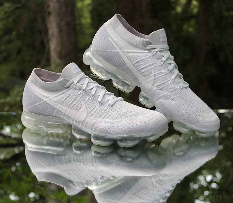 eae83b363 ... Nike Air VaporMax Flyknit Pure Platinum Wolf Grey 849558-004 Men's Size  13 | by