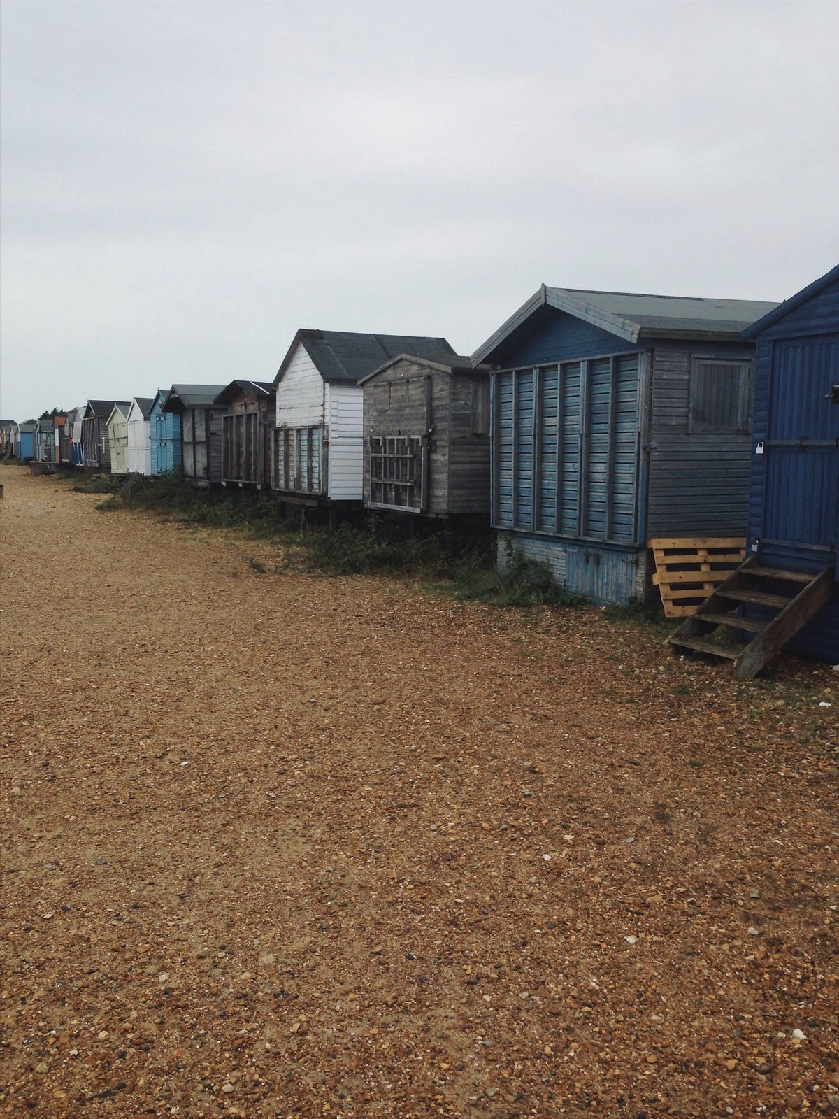 Beach Huts Faversham to Whitstable